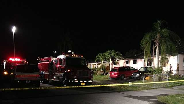 JUNE 6: Three kids and an adult were hurt in a house fire in Lake Worth early Friday morning.