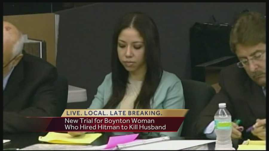 It was a scene that captured national headlines --  Dalia Dippolito of Boynton Beach tried to hire an undercover police officer to kill her husband back in 2009. Dippolito was convicted, but now she is getting a new trial. Reporter Terri Parker has the latest.