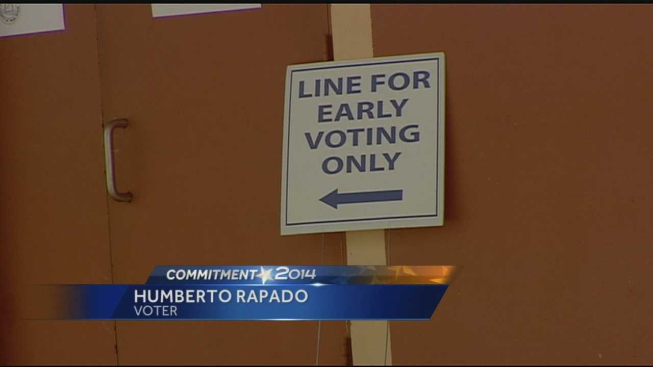 Early voting started today in the Palm Beaches and Treasure Coast.
