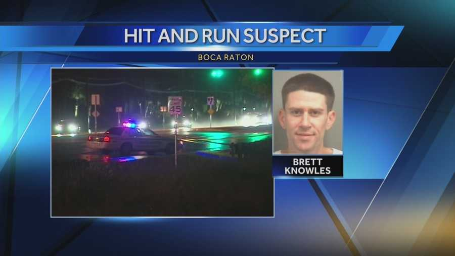 Driver identified as Brett Knowles, 30, of Boca Raton.