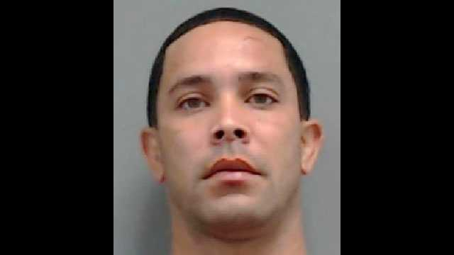 Aron Arias, 33, is facing charges for attempted car-jacking, according to deputies.