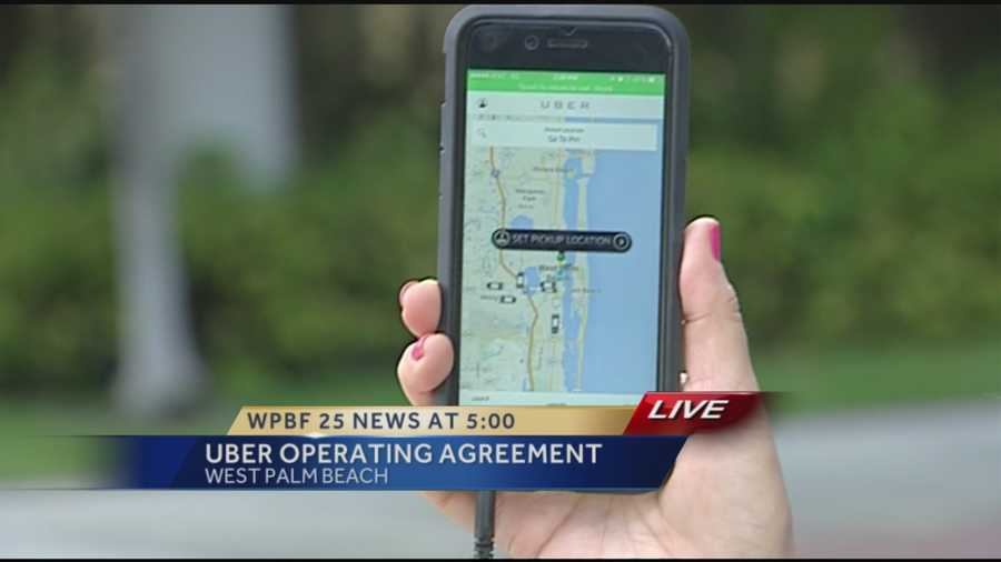 After a day of debate and public comment, Palm Beach County Commissioners voted 4-3 to approve an agreement that will allow Uber to continue offering its ride-sharing service temporarily while staff hammers out sticky questions about how to best regulate it.