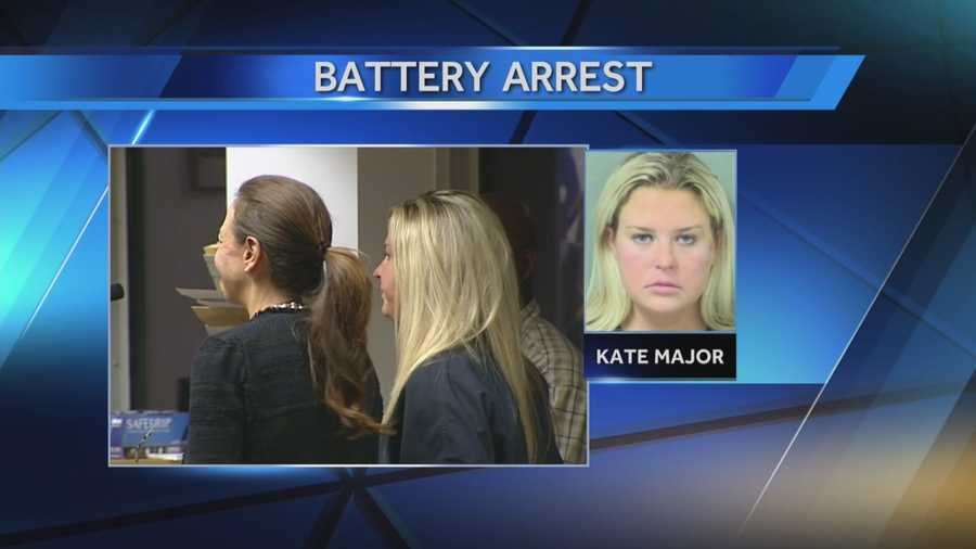 Kate Major Lohan, 32, the stepmother of actress Linsay Lohan, has been arrested and is facing charges of battery according to Boca Raton police.