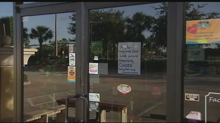 Restaurants and businesses had to close down because of the gas leak situation. Terri Parker reports.