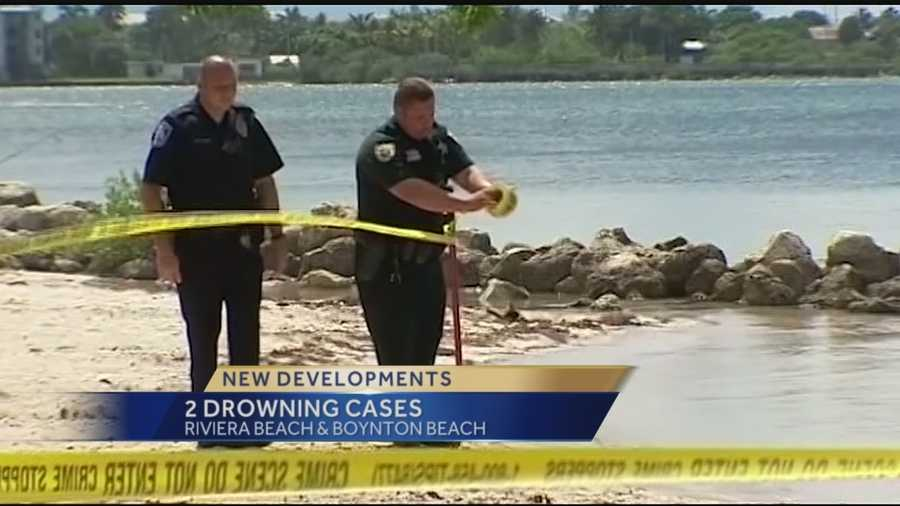 Two children drown in Palm Beach County Tuesday. A 7-year-old boy died after he was pulled from a lake in Riviera Beach and a 3-year-old child died only hours after being pulled from the Boynton Beach Inlet. Whitney Burbank reports.