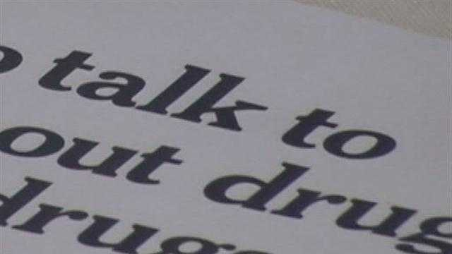 Police, school and medical professionals spoke at a local school about the growing danger posed by prescription drug abuse in the Plattsburgh area.