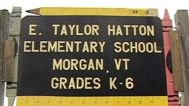 The E. Taylor Hatton Elementary School in Morgan, one of Vermont's tiniest schools, closed Friday.