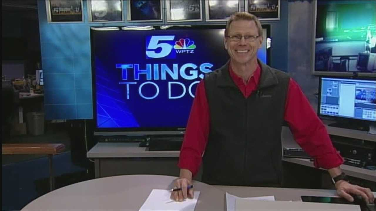 Holiday cheer is in abundance today. Tom Messner had your Things To Do