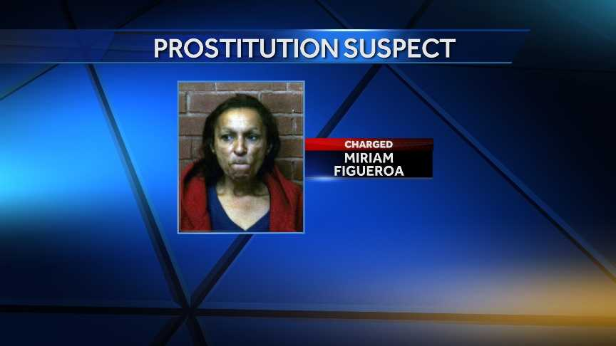 Miriam Figueroa, 50, of Lawrence, Mass., was arrested Dec. 20, 2013 in Hartford on charges of prostitution.