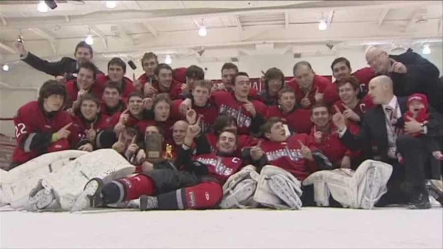 Beekmantown boy's hockey showdown with top ranked Lake Placid