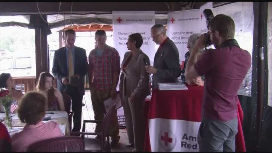 Red Cross awards teen