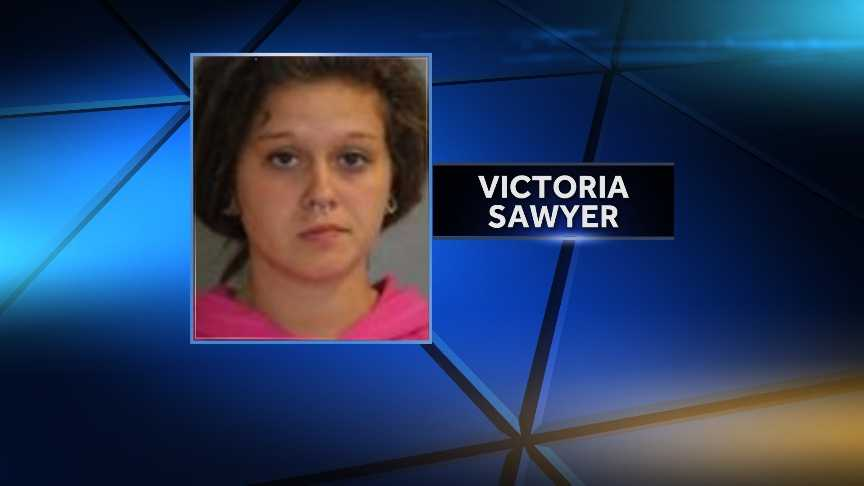New York State Police arrested Victoria Sawyer, 19, of Lake Placid, N.Y. on Sept. 15, 2014 after she allegedly gave marijuana to a 15-year-old boy twice. She is charged with two counts of selling marijuana and endangering the welfare of a child.