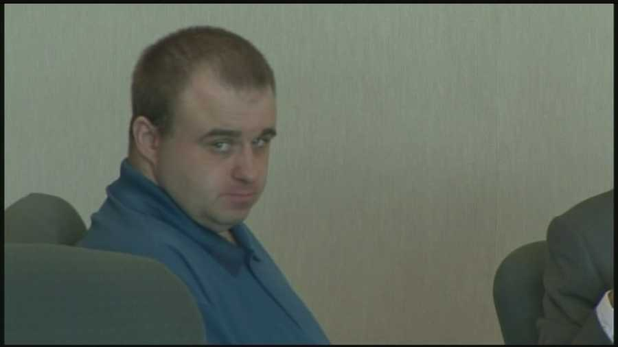 Allen Prue, 32, of Waterford, Vermont is on trial for the 2012 killing of Melissa Jenkins.
