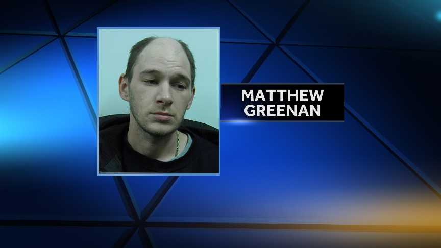 Matthew Greenan, 31, of Swanton is accused of attempting to rob the Swanton Post Office on Dec. 9, 2014 at knifepoint. Greenan was arrested at his home by Swanton Village Police and charged with attempted robbery.