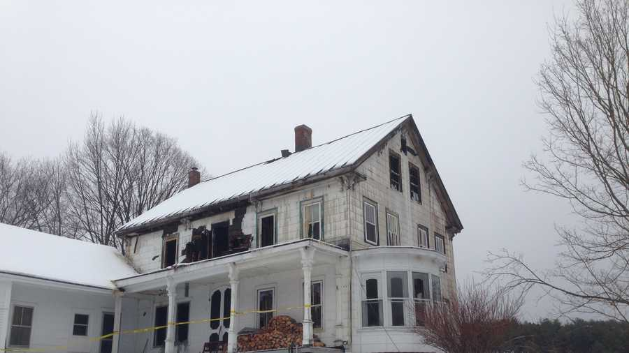 Historic farm house destroyed in Friday fire.