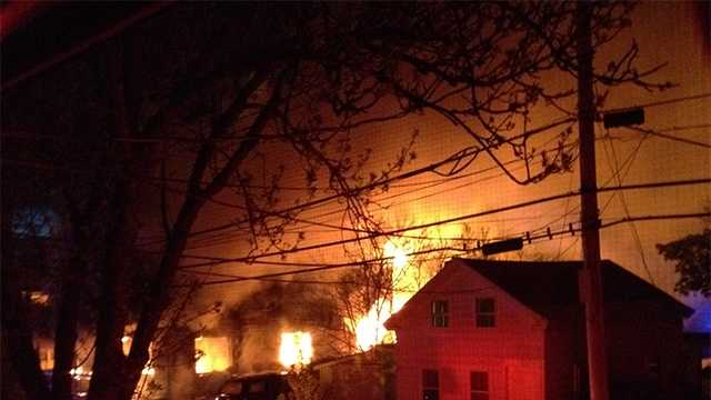 Neighbor shares photo of Wednesday house fire on Hyde Street