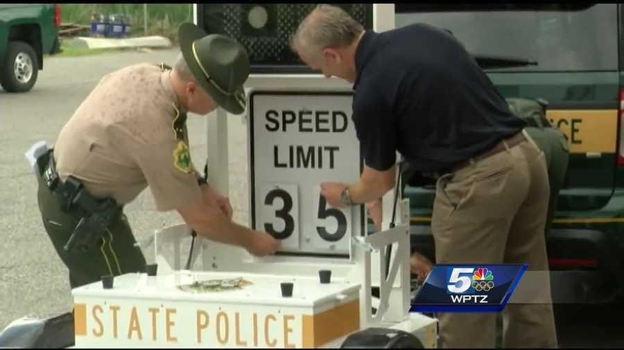 Vermont state troopers gathered Thursday afternoon to learn how to use a new onsite speed trailer, one of nine bought using $60,000 dollars. The purchase was made possible through the Governor's Highway Safety Program, the agency that monitors crashes across the state.