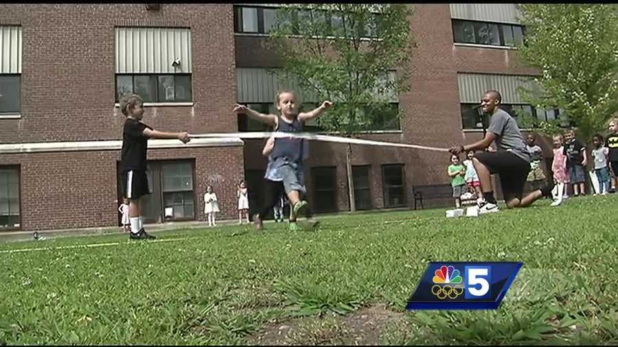 Vermont kids gets inspired to pursue their own athletic goals after watching Olympians compete in Rio.