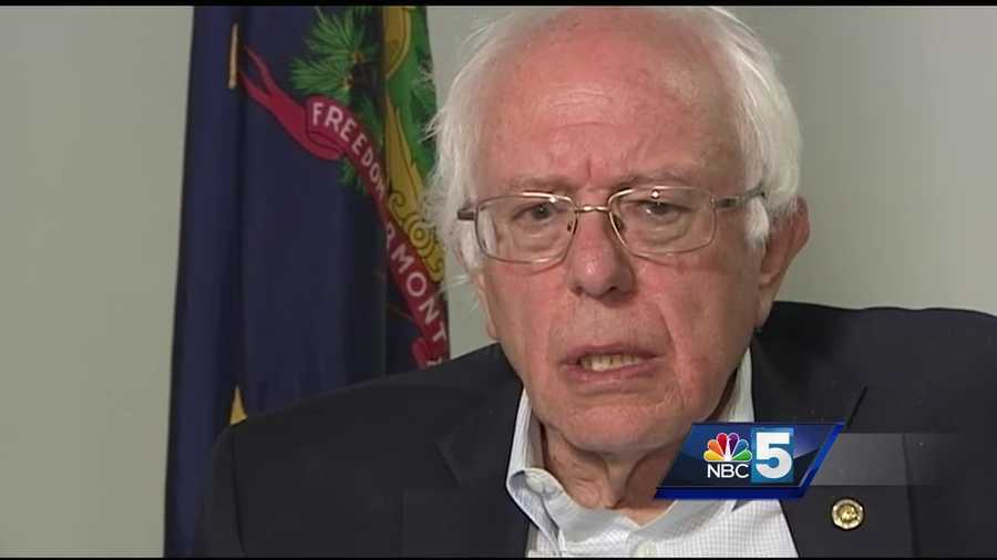 Sen. Bernie Sanders sat down Monday to discuss the end of his campaign, his new book, and the road ahead.