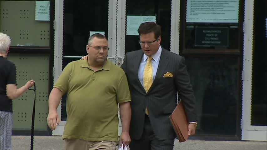 Andrew Marculaitis with his lawyer