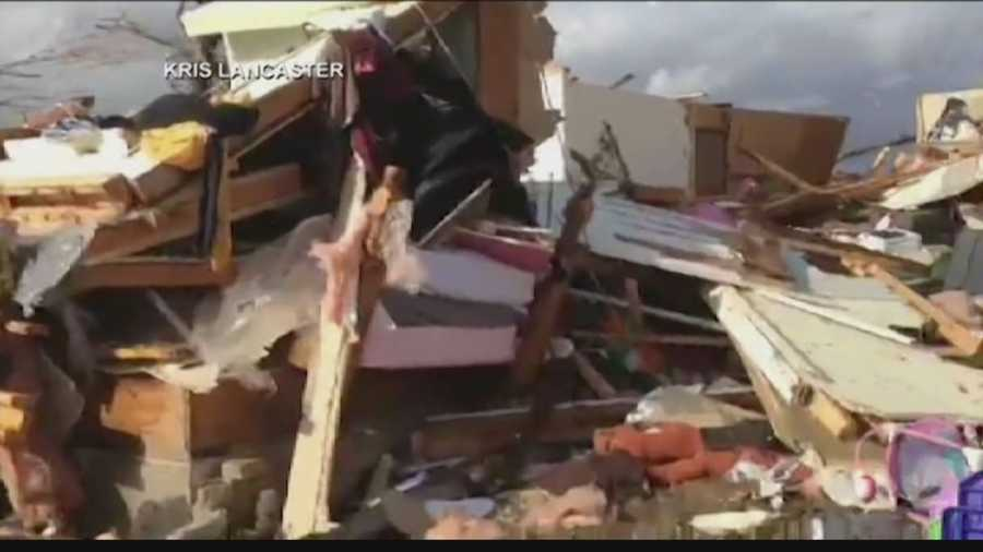 Weather Watch 4 Meteorologist Ashley Dougherty reviews the latest damage reports  across several states.