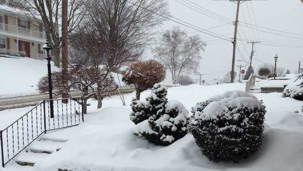 This photo was shared on u local by a WTAE viewer in Plum. Send your snow pictures to ulocal@wtae.com or upload them at ulocal.wtae.com.