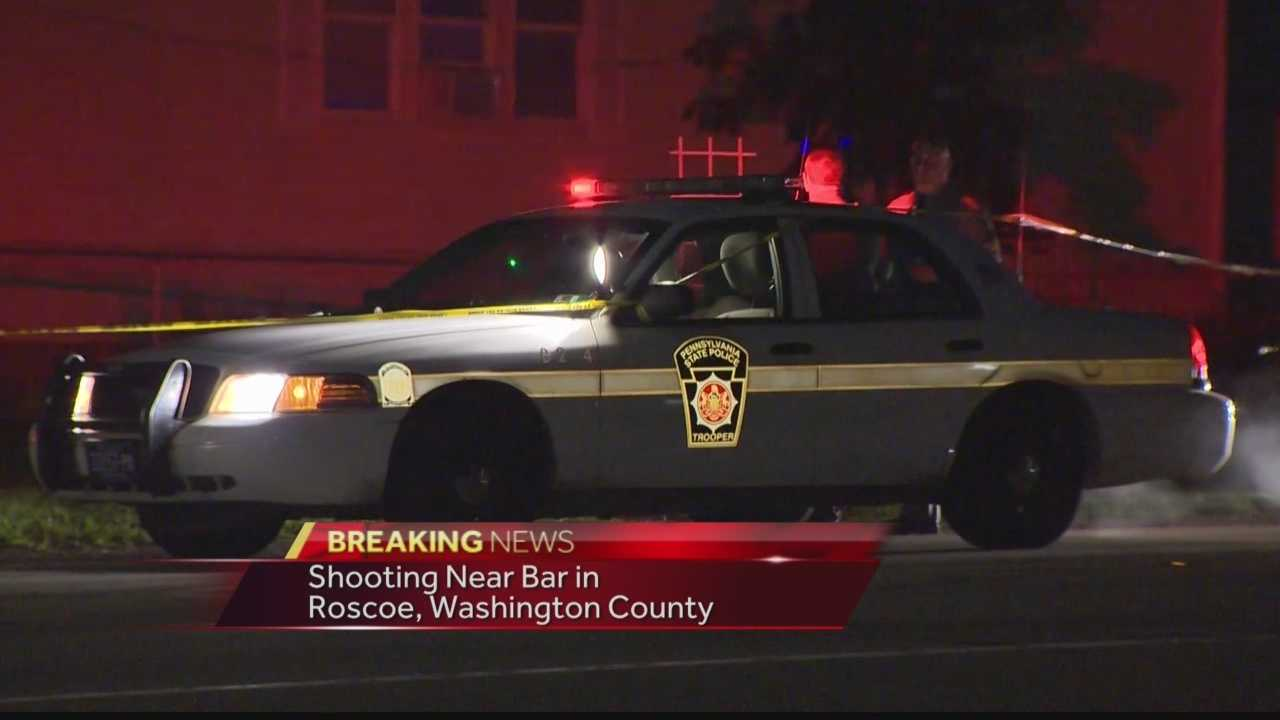 Pittsburgh's Action News 4's Courtney Fischer has the latest on investigation into the early morning shooting near a bar in Rosco, Washington County.