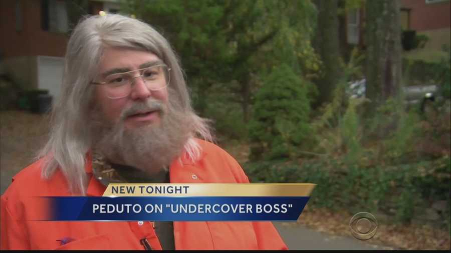 "Bill Peduto appears in disguise on ""Undercover Boss."""