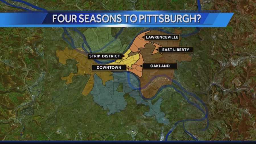 Pittsburgh's Action News reporter Sheldon Ingram reports that Four Seasons hotel executives will be traveling to meet with Pittsburgh officials, and Mayor Peduto, next week.