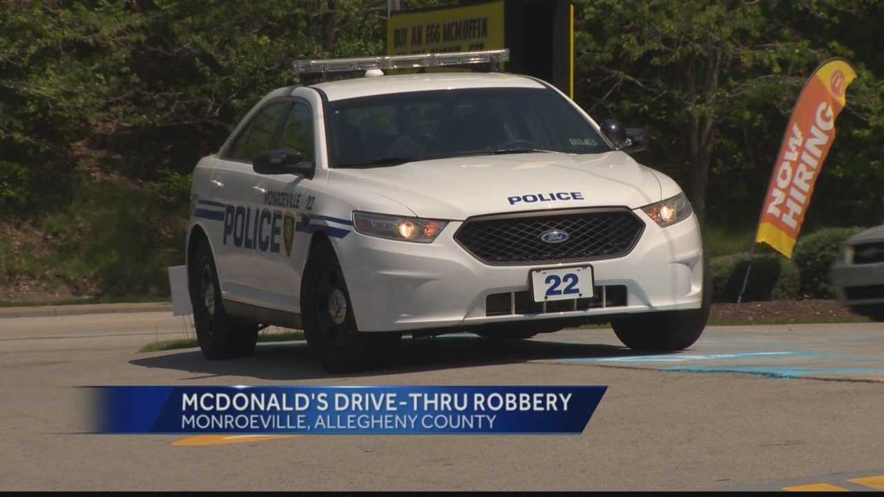 Monroeville police were called to the McDonald's restaurant on Business Route 22 shortly before noon Thursday.