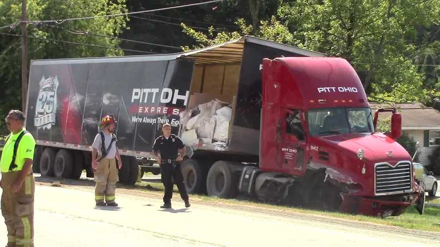 Two trucks were involved in a fatal accident on Route 288 in Franklin Township, Beaver County.