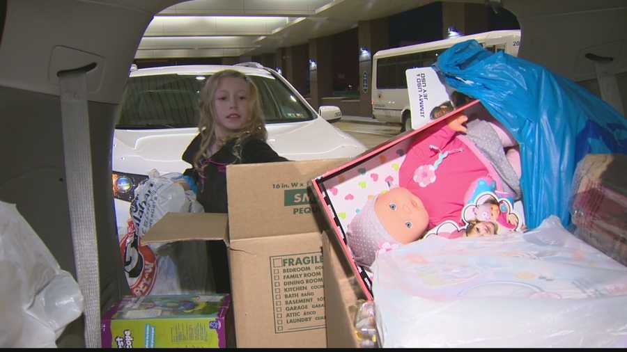Bella Gonzales didn't have a birthday list this year for her 11th birthday, instead she had a mission. On Tuesday, Bella carried out her mission to deliver toys to Children's Hospital.