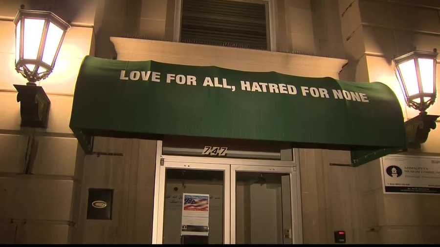 At a prayer vigil Saturday for terror victims at the Al-Nur Mosque in Wilkinsburg, Muslim leaders wanted to preach their message of peace.