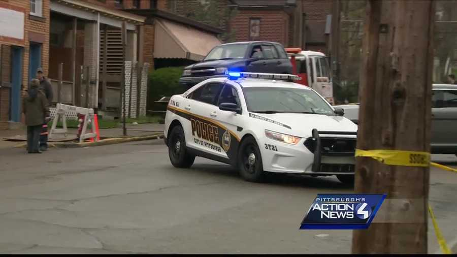 Police were called to the scene of a shooting in Pittsburgh's Elliott neighborhood Monday morning.