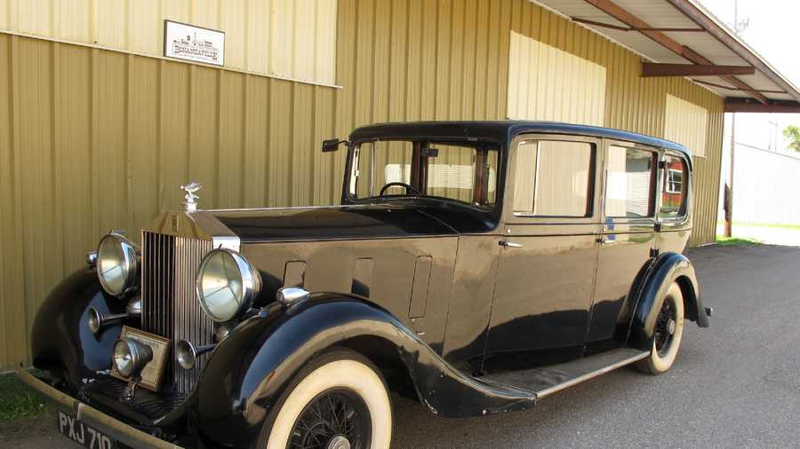 A 1936 Rolls-Royce that was owned by Edward Stanley, son of the man who founded the Stanley Cup.