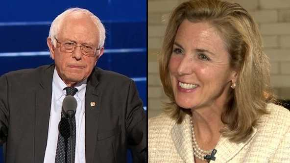 Bernie Sanders and Katie McGinty