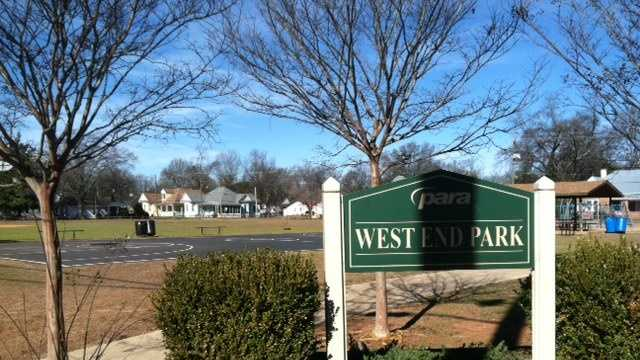 A shooting Sunday at West End Park in Tuscaloosa injured a 14-year-old girl.