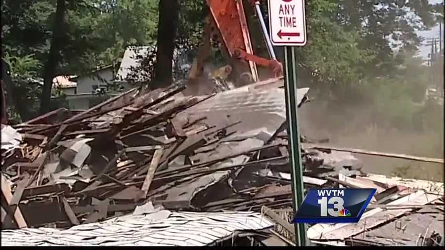 The East Lake neighborhood is celebrating the city demolishing more than a half dozen dilapidated homes in their community.