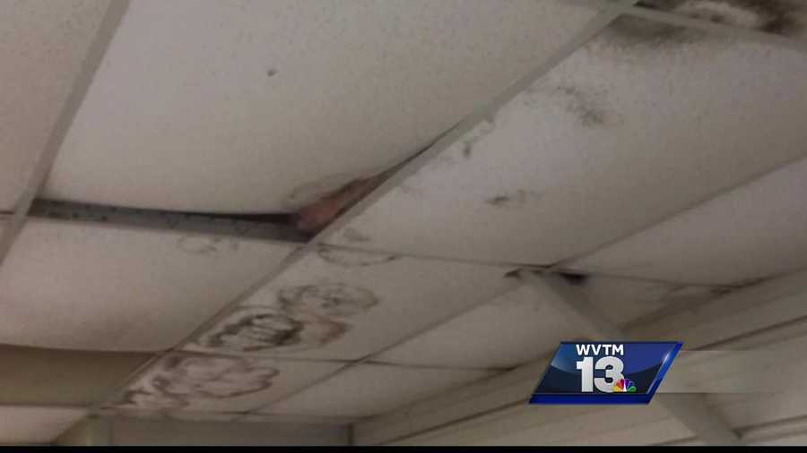 Pinson Valley High School has been working to remove mold and mildew problems in the school.