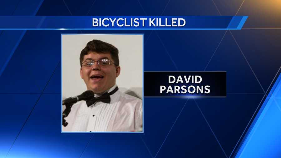 David Parsons, 19, died as he tried crossing Highway 280 at Dolly Ridge Road on his bike Thursday night.