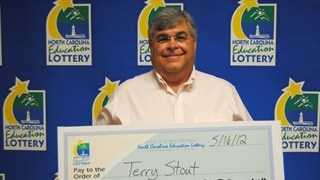 Terry Stout (photo from NC Education Lottery)