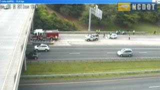 Business 40 pedestrian wreck at Silas Creek Parkway (NCDOT)