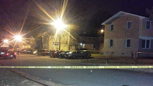 Homicide investigation on Summit Avenue in Greensboro (Joey McDonald/WXII)