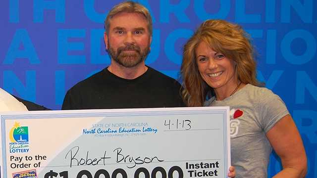 Robert and Leigh Bryson (NC Education Lottery)