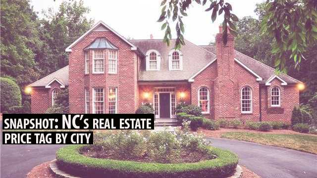 Nc S Real Estate Cost By City