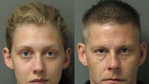 Brittany Fulbright, Steven Allison: Accused of burglary, larceny