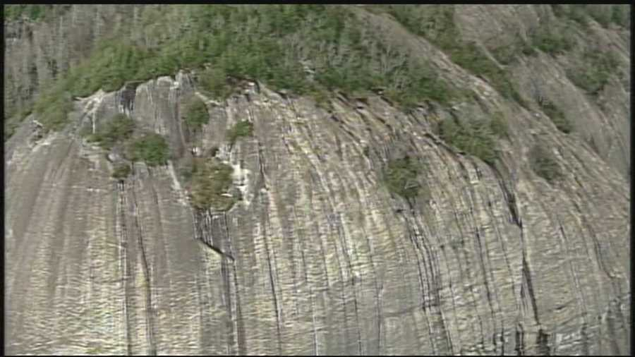 Hiker rescued after cold night on Looking Glass Rock