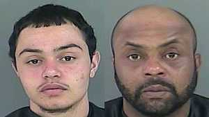 Christopher Laquientia Mack Jr. and Christopher Laquientia Mack Sr.: charged with trafficking marijuana