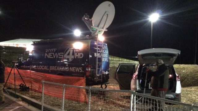 The WYFF News 4 production site at Green Pond Landing