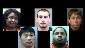 To see the mug shots of those arrested and wanted in the Upstate and WNC in March, click here.